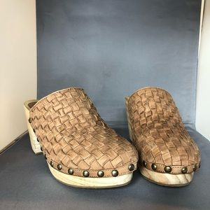 Free People | Adelaide Classic Wooden Clogs 38